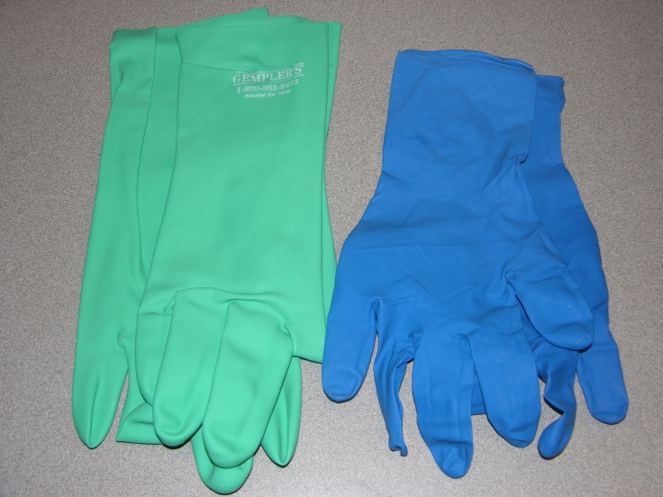 rubber gloves disposable